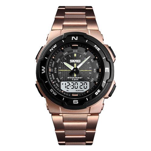 Skmei - Reloj 1370RG Análogo-Digital para Hombre