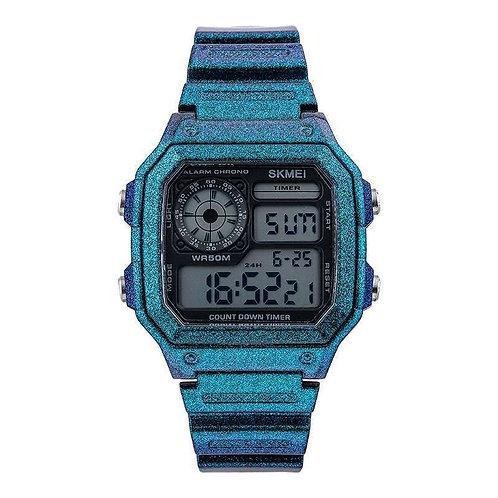 Skmei - Reloj 1299GTBU Digital para Hombre