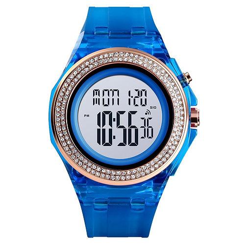 Skmei - Reloj 1598BU Digital para Mujer