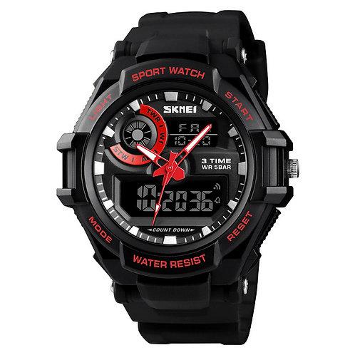 Skmei - Reloj 1357RD Análogo-Digital para Hombre