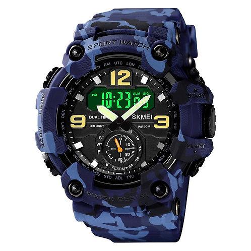 Skmei - Reloj 1637CMBU Digital para Hombre