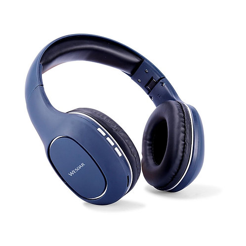 Wesdar - Audífonos Bluetooth Azul