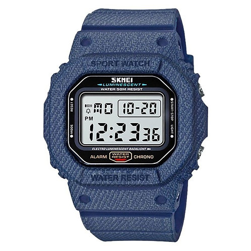 Skmei - Reloj 1471DMBU Digital para unisex