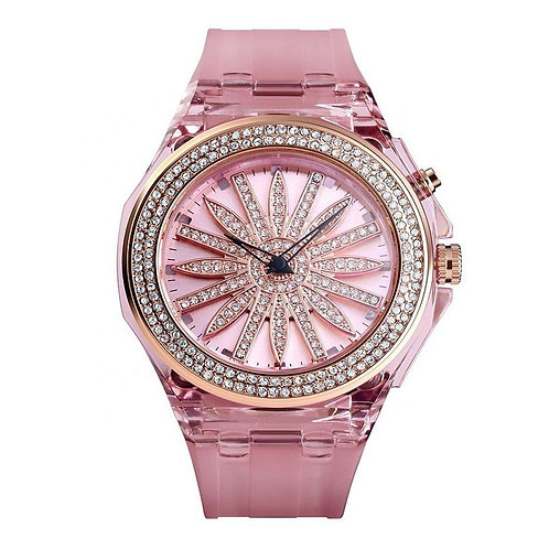 Skmei - Reloj 1536PK Análogo para Mujer