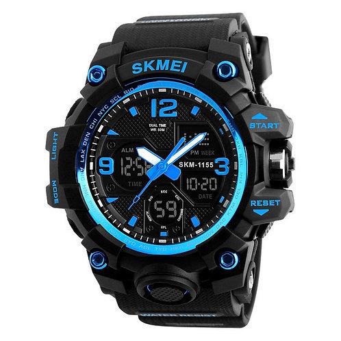 Skmei - Reloj 1155BBU Análogo-Digital para Hombre