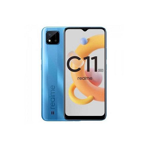 Realme - Celular C11 2021 2GB 32GB Azul