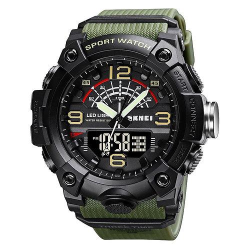 Skmei - Reloj 1619AG Análogo/Digital para Hombre