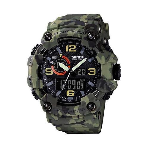 Skmei - Reloj 1520CMGN Análogo/Digital para hombre