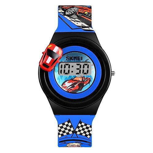 Skmei - Reloj 1376DKBU Digital para Niño