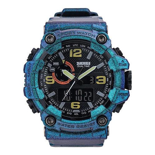 Skmei - Reloj 1520GTBU Análogo-Digital Hombre