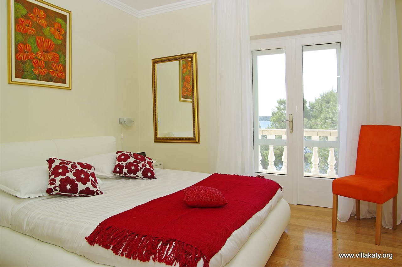 Bedroom two with balcony