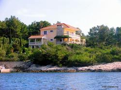 Villa Katy from the sea