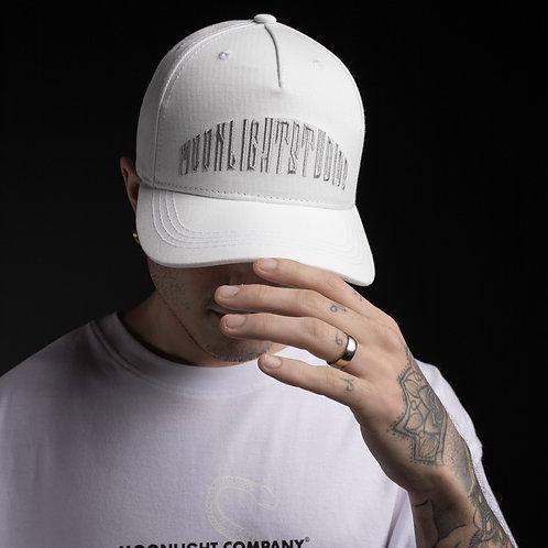 Baseball cap Moonlight studios/All white