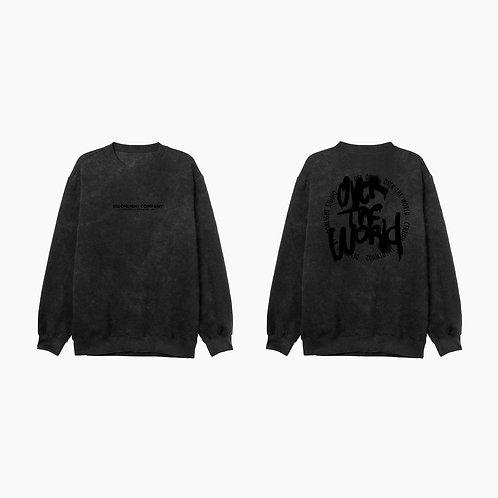 Pre- venta Acid wash crewneck sweatshirt OTW