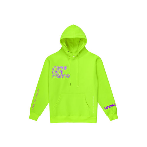 Moonlight studios hoodie - Energy Green