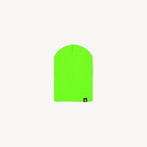 Chill Beanie Green Néon