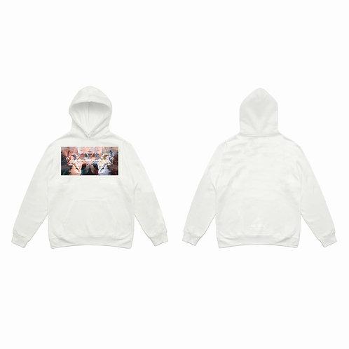 Angels Hoodie / Pearl white