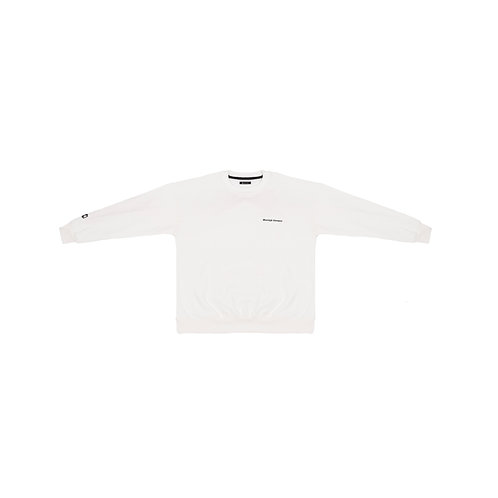 Homie´s sweater pearl white
