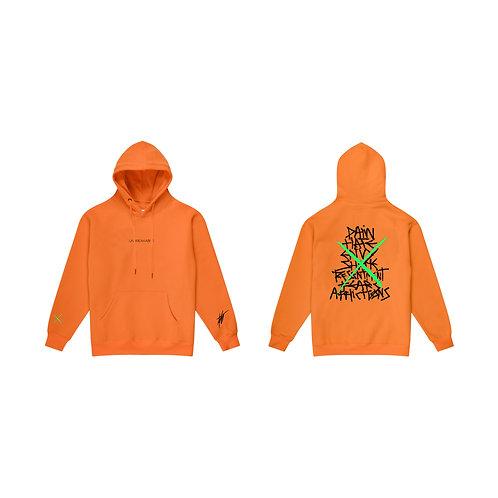 Unbreakable Hoodie Orange - AB