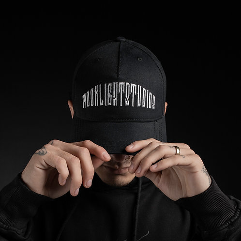Baseball cap Moonlight studios/All black