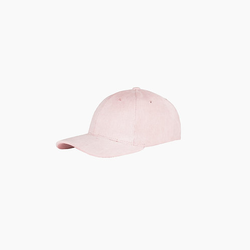 Baseball cap de corduroy / Soft pink