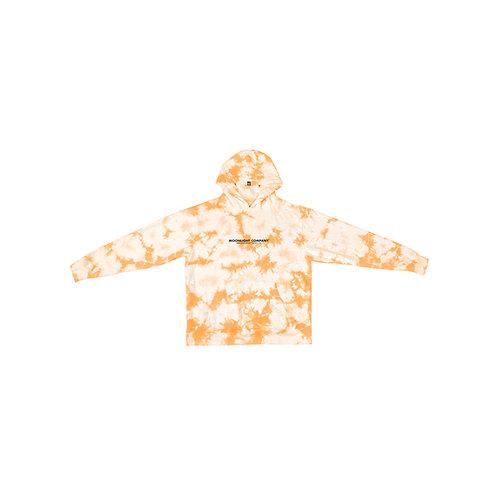 Tie Dye Hoodie orange