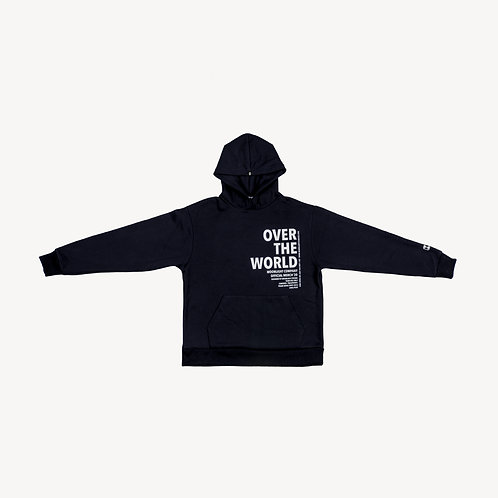 Over the World Hoodie Navy Blue