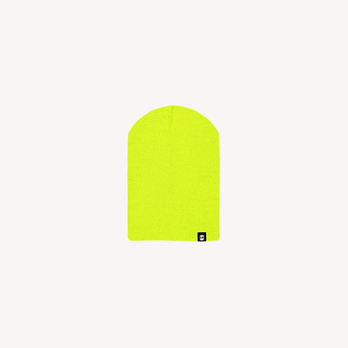 Chill Beanie Green Lemon Néon