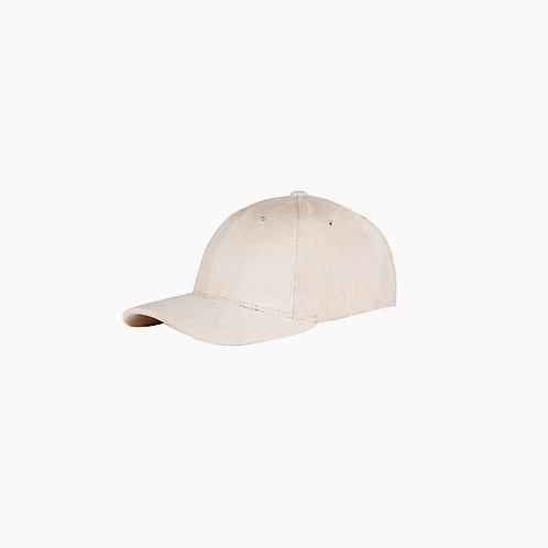 Baseball cap de corduroy / Beige