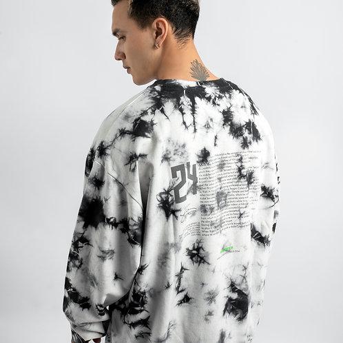 Tie dye crewneck sweatshirt