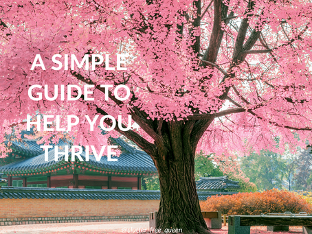 A Simple Guide to help you thrive