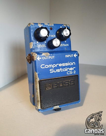 Boss Compression Sustainer CS-2 1981