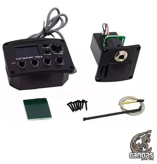 Pré amplificador para violão Tagima TEQ-8