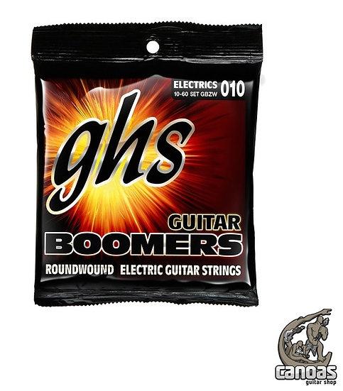 Encordoamento GHS Boomers Híbrido Guitarra .010/.060 GBZW