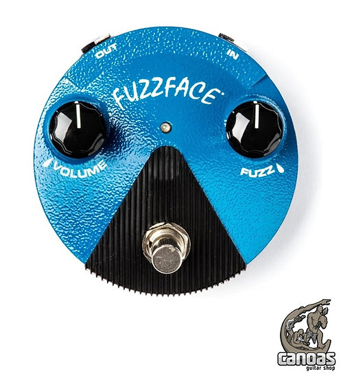 Pedal Dunlop Mini Silicon Fuzz Face Distortion – FFM1
