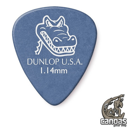 Par de palhetas Dunlop Gator Grip 1,14mm