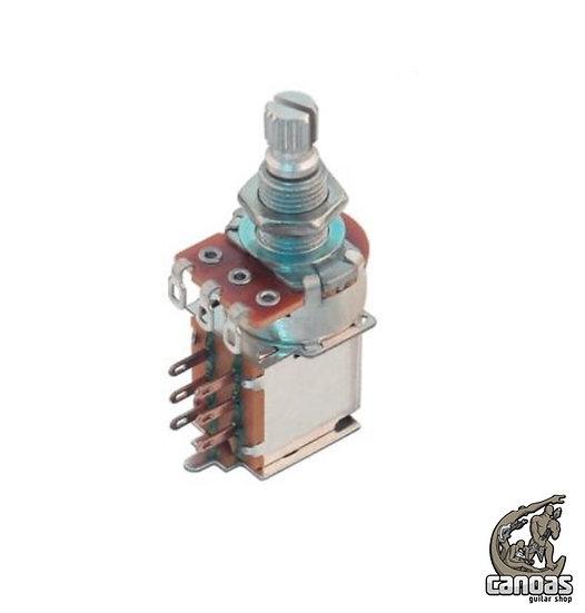 Potenciômetro Spirit A500k Log Taper VLPP1 Push/Pull