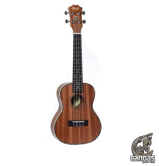 Ukulele Seizi Maui Plus Concert Acústico Bag Sapele