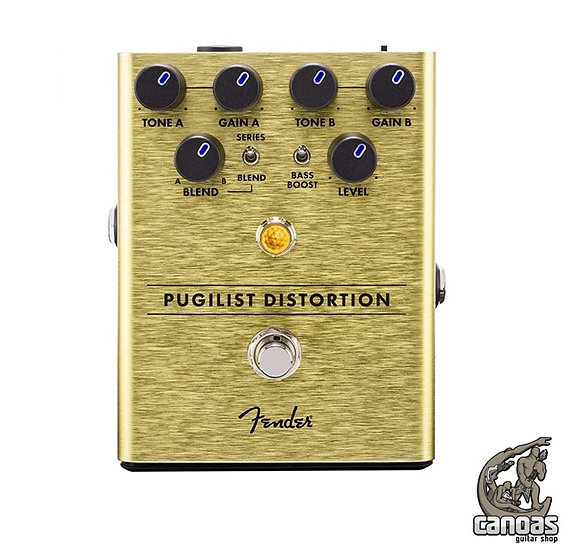 Pedal Fender Pugilist Distortion Guitarra