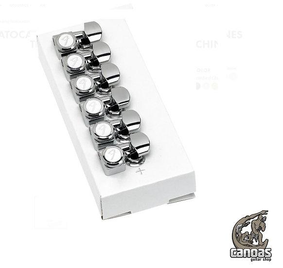 Tarraxas Fender para Guitarras Strato/Tele com trava Locking 38-11 F-SL
