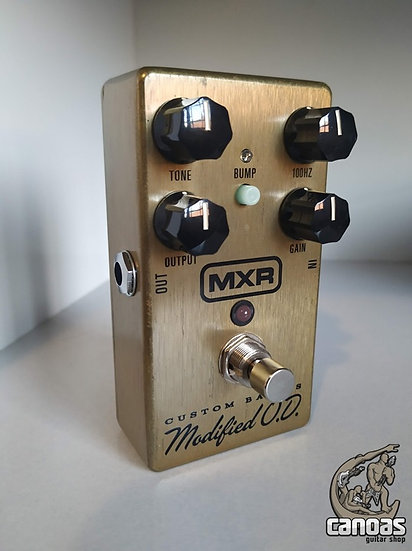 Dunlop MXR M77 Custom Badass Modified Overdrive