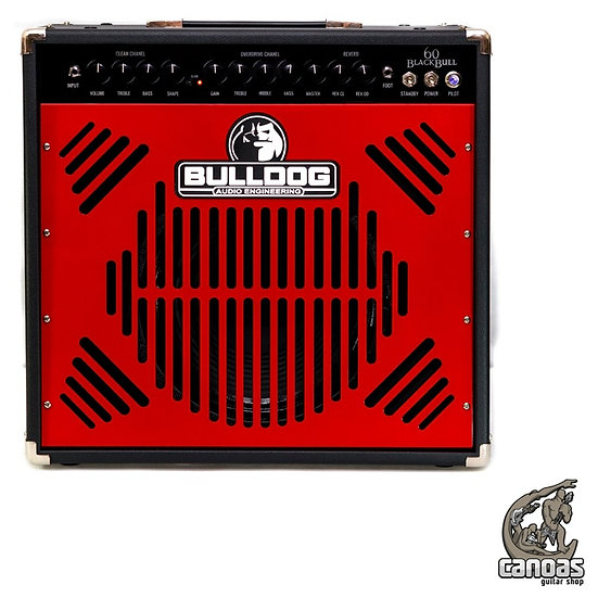 Amplificador Bulldog Blackbull 60 Watts Combo All Tube
