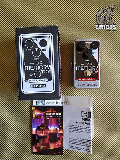 EHX Memory Toy Analog Delay