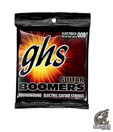 Encordoamento GHS Guitar Boomers GBCL .009/ .046.