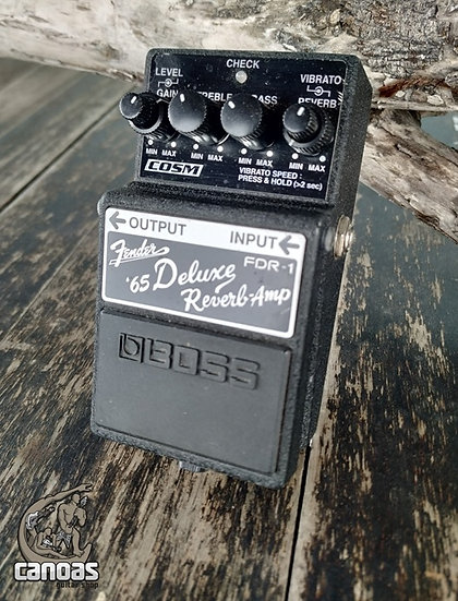 Boss Fender '65 Deluxe Reverb-Amp FDR-1
