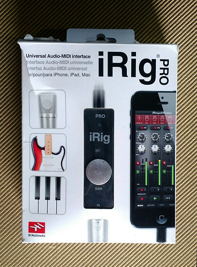 iRig PRO Made in Italy
