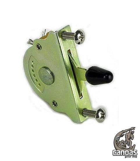 Chave Seletora Custom Sound 5 Posições Strat CCS5-BK