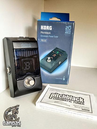 Afinador Korg Pitchblack Chromatic Tuner PB-01