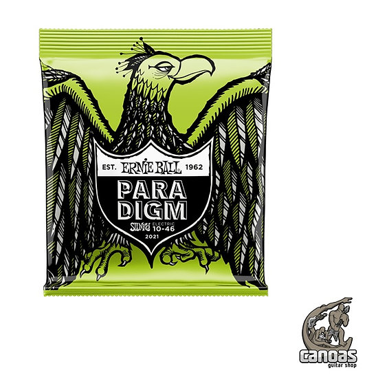 Encordoamento Ernie Ball Paradigm .010-046 Guitarra Regular Slinky