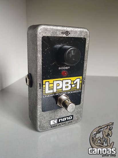 EHX Nano LPB-1 Linear Power Booster Made in USA